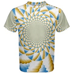 Tech Neon And Glow Backgrounds Psychedelic Art Psychedelic Art Men s Cotton Tee
