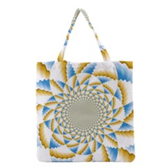Tech Neon And Glow Backgrounds Psychedelic Art Psychedelic Art Grocery Tote Bag