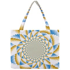 Tech Neon And Glow Backgrounds Psychedelic Art Psychedelic Art Mini Tote Bag