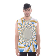 Tech Neon And Glow Backgrounds Psychedelic Art Psychedelic Art Men s Basketball Tank Top