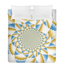 Tech Neon And Glow Backgrounds Psychedelic Art Psychedelic Art Duvet Cover Double Side (full/ Double Size)
