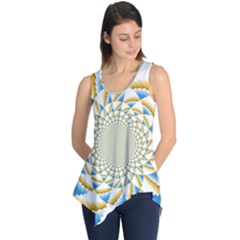 Tech Neon And Glow Backgrounds Psychedelic Art Psychedelic Art Sleeveless Tunic