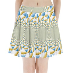 Tech Neon And Glow Backgrounds Psychedelic Art Psychedelic Art Pleated Mini Skirt