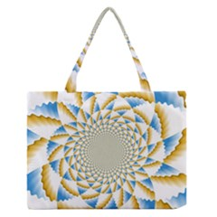 Tech Neon And Glow Backgrounds Psychedelic Art Psychedelic Art Medium Zipper Tote Bag
