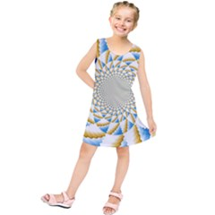Tech Neon And Glow Backgrounds Psychedelic Art Psychedelic Art Kids  Tunic Dress
