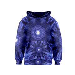 Tech Neon And Glow Backgrounds Psychedelic Art Kids  Pullover Hoodie