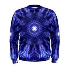 Tech Neon And Glow Backgrounds Psychedelic Art Men s Sweatshirt