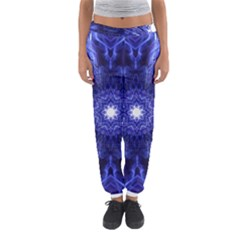 Tech Neon And Glow Backgrounds Psychedelic Art Women s Jogger Sweatpants