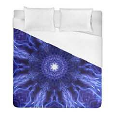 Tech Neon And Glow Backgrounds Psychedelic Art Duvet Cover (full/ Double Size)