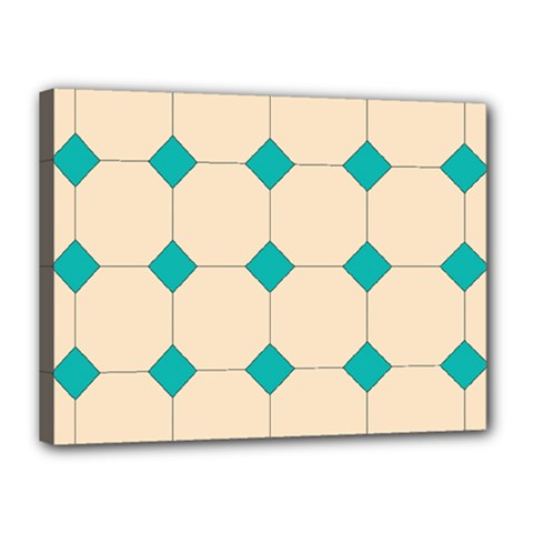 Tile Pattern Wallpaper Background Canvas 16  X 12