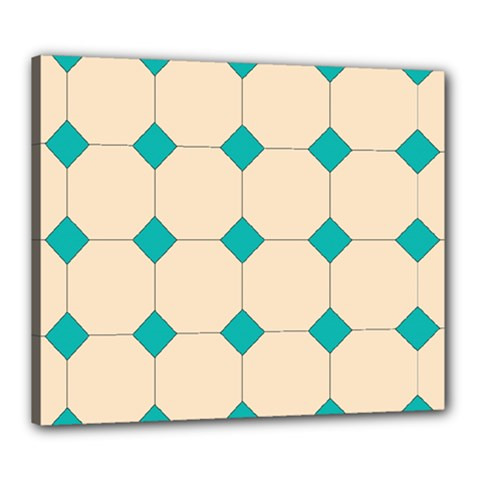 Tile Pattern Wallpaper Background Canvas 24  X 20