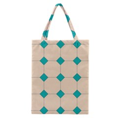Tile Pattern Wallpaper Background Classic Tote Bag