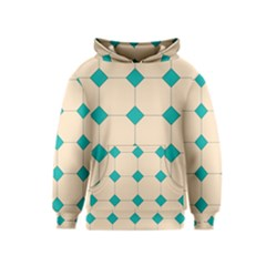 Tile Pattern Wallpaper Background Kids  Pullover Hoodie