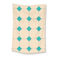 Tile Pattern Wallpaper Background Small Tapestry