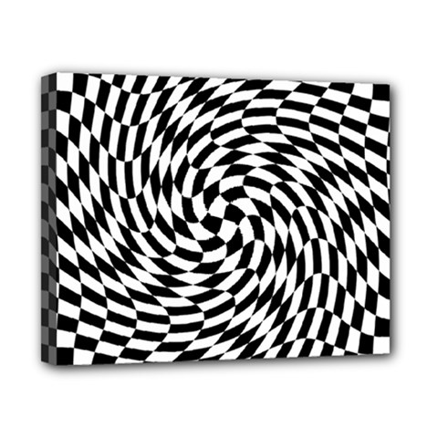 Whirl Canvas 10  X 8