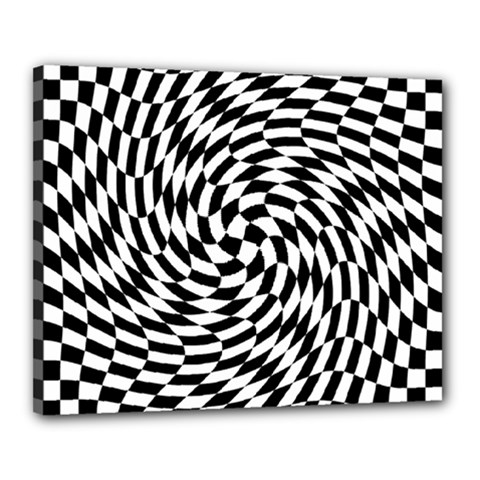 Whirl Canvas 20  X 16
