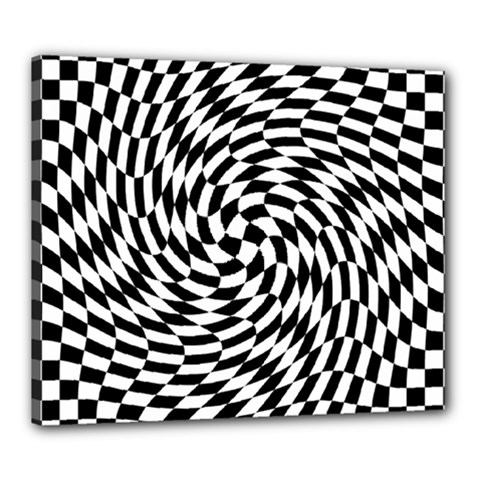 Whirl Canvas 24  X 20