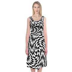 Whirl Midi Sleeveless Dress