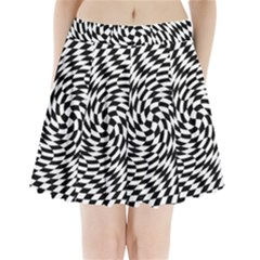 Whirl Pleated Mini Skirt