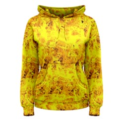 Yellow Abstract Background Women s Pullover Hoodie