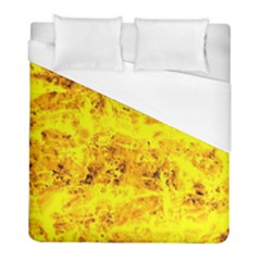 Yellow Abstract Background Duvet Cover (full/ Double Size)