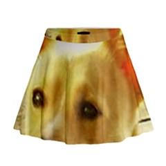 Portuguese Podengo Mini Flare Skirt