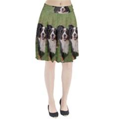 Bernese Mountain Dog Full Pleated Skirt