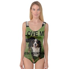 Bernese Mountain Dog Love W Pic Princess Tank Leotard