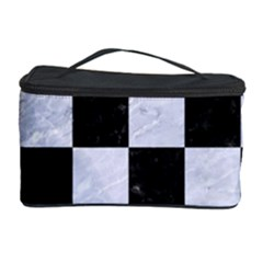 Square1 Black Marble & White Marble Cosmetic Storage Case