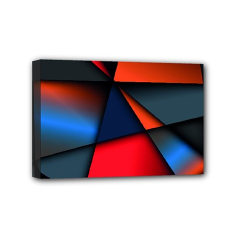 3d And Abstract Mini Canvas 6  x 4