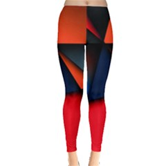 3d And Abstract Leggings