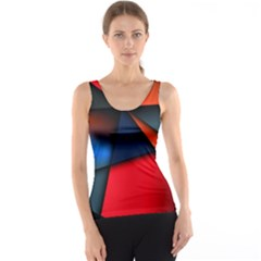 3d And Abstract Tank Top