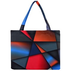 3d And Abstract Mini Tote Bag