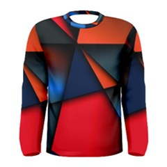 3d And Abstract Men s Long Sleeve Tee