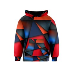 3d And Abstract Kids  Pullover Hoodie