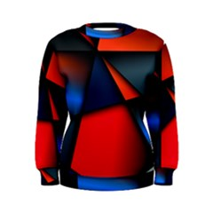 3d And Abstract Women s Sweatshirt