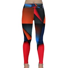3d And Abstract Classic Yoga Leggings