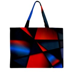 3d And Abstract Zipper Mini Tote Bag