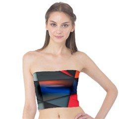 3d And Abstract Tube Top