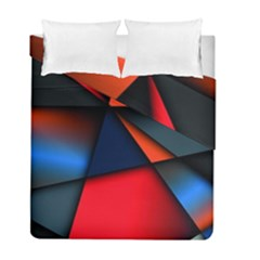 3d And Abstract Duvet Cover Double Side (Full/ Double Size)