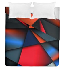 3d And Abstract Duvet Cover Double Side (Queen Size)