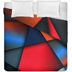 3d And Abstract Duvet Cover Double Side (King Size)