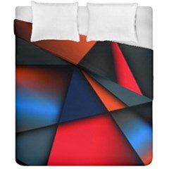 3d And Abstract Duvet Cover Double Side (California King Size)