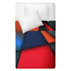 3d And Abstract Duvet Cover Double Side (Single Size)