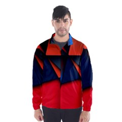 3d And Abstract Wind Breaker (Men)