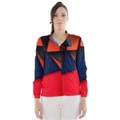 3d And Abstract Wind Breaker (Women)