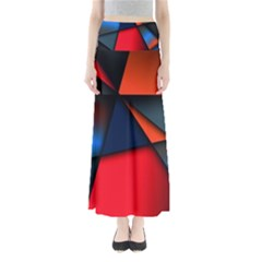 3d And Abstract Maxi Skirts