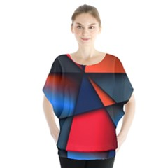 3d And Abstract Blouse