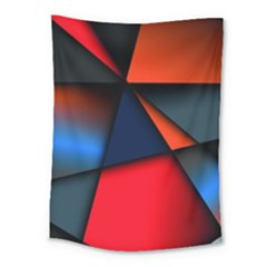 3d And Abstract Medium Tapestry
