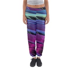 Abstract Satin Women s Jogger Sweatpants
